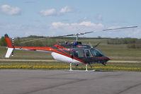 C-FIAN @ CZVL - Heli Quest Bell 206 - by Yakfreak - VAP