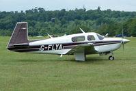 G-FLYA @ EGTB - Visitor to 2009 AeroExpo at Wycombe Air Park