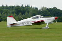 G-BXWT @ EGTB - Visitor to 2009 AeroExpo at Wycombe Air Park
