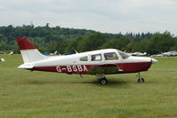 G-BSBA @ EGTB - Visitor to 2009 AeroExpo at Wycombe Air Park