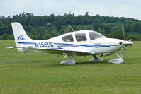 N1569C @ EGTB - Visitor to 2009 AeroExpo at Wycombe Air Park
