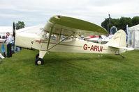 G-ARUI @ EGTB - exhibited at 2009 AeroExpo at Wycombe Air Park
