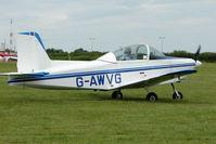 G-AWVG @ EGTB - Visitor to 2009 AeroExpo at Wycombe Air Park