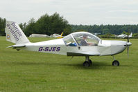 G-SJES @ EGTB - Visitor to 2009 AeroExpo at Wycombe Air Park