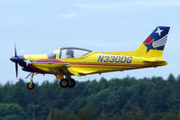 N330DG @ EGTB - Visitor to 2009 AeroExpo at Wycombe Air Park