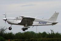 N235PF @ EGTB - Visitor to 2009 AeroExpo at Wycombe Air Park
