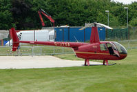 G-JTSA @ EGTB - Robinson at Wycombe Air Park