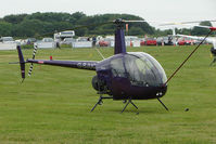 G-BJUC @ EGTB - Robinson at Wycombe Air Park
