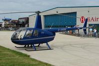 G-ORBK @ EGTB - Visitor to 2009 AeroExpo at Wycombe Air Park