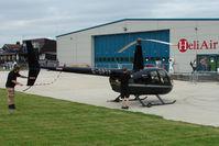 G-OPTF @ EGTB - Visitor to 2009 AeroExpo at Wycombe Air Park