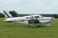 G-CHIP @ EGTB - Visitor to 2009 AeroExpo at Wycombe Air Park