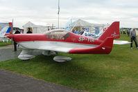 SP-YIA @ EGTB - exhibited at 2009 AeroExpo at Wycombe Air Park