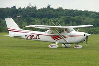 G-BBJZ @ EGTB - Visitor to 2009 AeroExpo at Wycombe Air Park