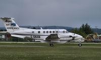 C-GNAM @ CYZH - Air Ambulance - by William Heather