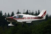G-BKDH @ EGTB - Visitor to 2009 AeroExpo at Wycombe Air Park