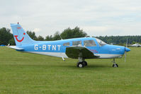 G-BTNT @ EGTB - Visitor to 2009 AeroExpo at Wycombe Air Park