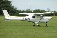 G-CSDJ @ EGTB - Visitor to 2009 AeroExpo at Wycombe Air Park