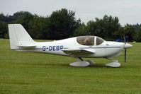 G-DEBR @ EGTB - Visitor to 2009 AeroExpo at Wycombe Air Park