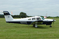 N8105Z @ EGTB - Visitor to 2009 AeroExpo at Wycombe Air Park