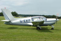 G-EXIT @ EGTB - Visitor to 2009 AeroExpo at Wycombe Air Park