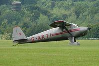 G-AKTI @ EGTB - Visitor to 2009 AeroExpo at Wycombe Air Park