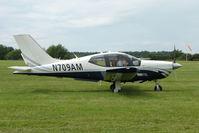 N709AM @ EGTB - Visitor to 2009 AeroExpo at Wycombe Air Park