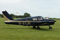 G-AYJR @ EGTB - Visitor to 2009 AeroExpo at Wycombe Air Park