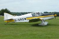 G-AROW @ EGTB - Visitor to 2009 AeroExpo at Wycombe Air Park