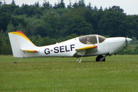 G-SELF @ EGTB - Visitor to 2009 AeroExpo at Wycombe Air Park