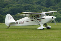 G-BIAP @ EGTB - Visitor to 2009 AeroExpo at Wycombe Air Park