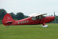 G-AREX @ EGTB - Visitor to 2009 AeroExpo at Wycombe Air Park