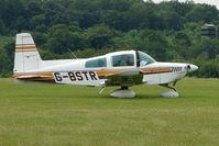 G-BSTR @ EGTB - Visitor to 2009 AeroExpo at Wycombe Air Park