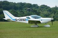 G-CESZ @ EGTB - Visitor to 2009 AeroExpo at Wycombe Air Park