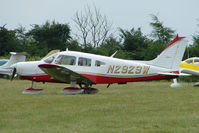 N2929W @ EGTB - Visitor to 2009 AeroExpo at Wycombe Air Park