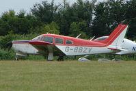 G-BBZV @ EGTB - Visitor to 2009 AeroExpo at Wycombe Air Park