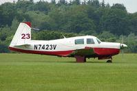 N7423V @ EGTB - Visitor to 2009 AeroExpo at Wycombe Air Park