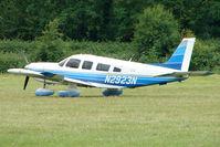 N2923N @ EGTB - Visitor to 2009 AeroExpo at Wycombe Air Park