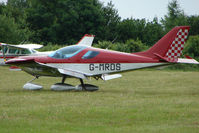 G-MRDS @ EGTB - Visitor to 2009 AeroExpo at Wycombe Air Park