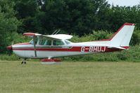 G-BHUJ @ EGTB - Visitor to 2009 AeroExpo at Wycombe Air Park