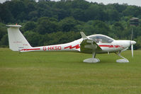 G-HKSD @ EGTB - Visitor to 2009 AeroExpo at Wycombe Air Park - by Terry Fletcher