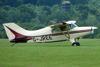 G-JREE @ EGTB - Visitor to 2009 AeroExpo at Wycombe Air Park