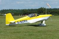 G-BZRV @ EGTB - Visitor to 2009 AeroExpo at Wycombe Air Park