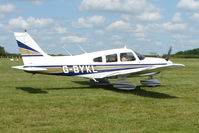 G-BYKL @ EGTB - Visitor to 2009 AeroExpo at Wycombe Air Park