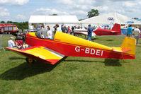 G-BDEI @ EGTB - exhibited at 2009 AeroExpo at Wycombe Air Park