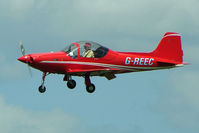 G-REEC @ EGTB - Visitor to 2009 AeroExpo at Wycombe Air Park