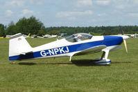 G-NPKJ @ EGTB - Visitor to 2009 AeroExpo at Wycombe Air Park