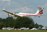 G-MOAN @ EGTB - Visitor to 2009 AeroExpo at Wycombe Air Park