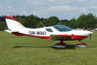 OM-M987 @ EGTB - Visitor to 2009 AeroExpo at Wycombe Air Park