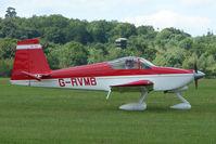 G-RVMB @ EGTB - Visitor to 2009 AeroExpo at Wycombe Air Park