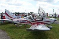 OK-NUR77 @ EGTB - exhibited at 2009 AeroExpo at Wycombe Air Park